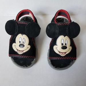 Mickey Mouse Sandals Toddler size Small 5/6